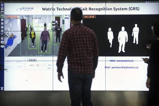 sistema de reconhecimento jeito de andar